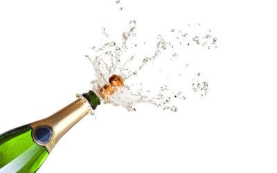 J'ai minci avec du champagne !…