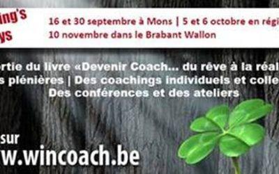 Coaching's days Liège 5 et 6 octobre 2019