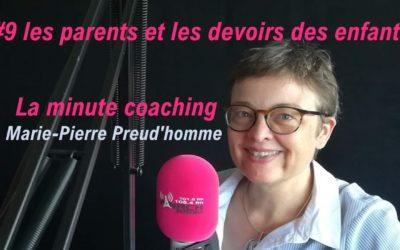 La minute coaching #9 Bien-être scolaire : parents et devoirs des enfants
